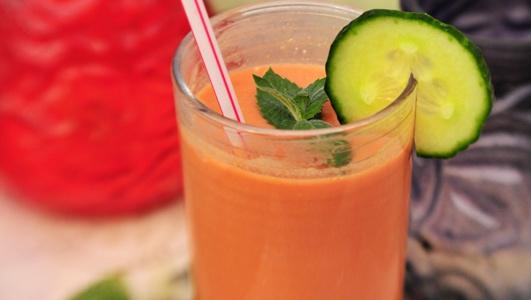 Reinigender Gemüsecocktail