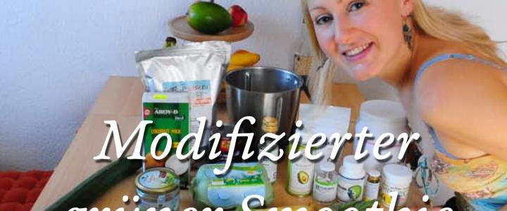 Grüner Smoothie – Weniger Kohlenhydrate, mehr Fett und Protein