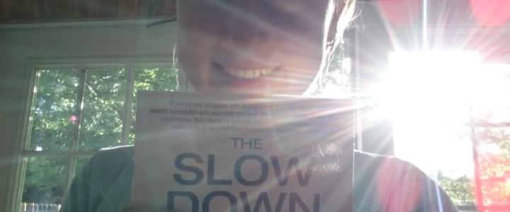 GEWINNSPIEL! Buch The Slow Down Diet signiert von Marc David & Emily Rosen
