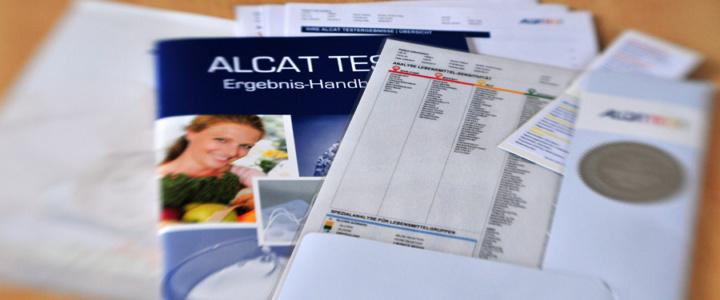 Meine Testergebnisse vom Alcat-Test