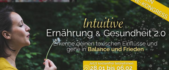 Einladung zum Online-Kongress für intuitive Ernährung & Gesundheit Start 28.1.21
